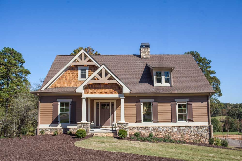 Country house plans america s home place for Country style homes