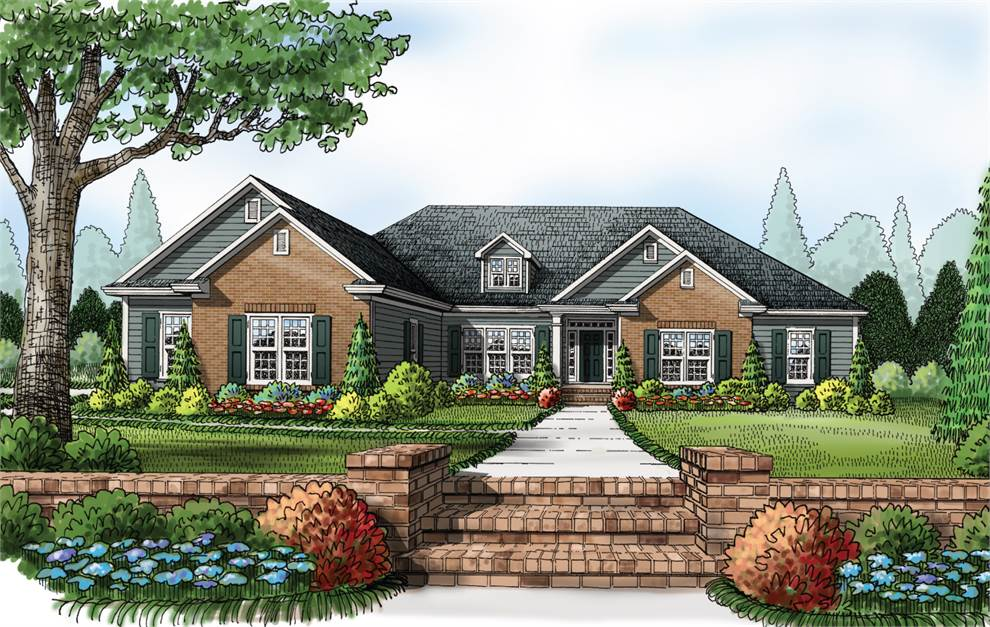 Americas home place the brookwood b for Brookwood home builders