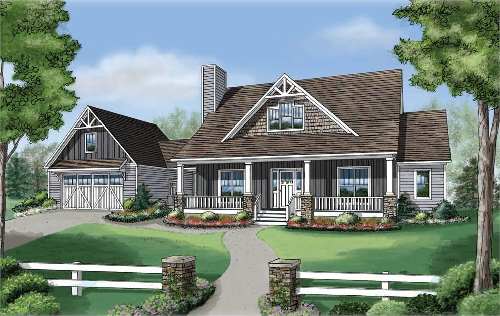 Americas home place the dogwood ii a for Dogwood homes